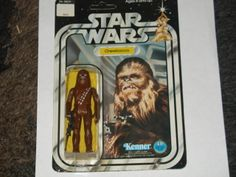 Vintage Star Wars Chewbacca 12 back C MOC