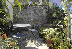 tiny courtyard ideas | ... with shape, habit, texture and colour to dress thisseaside courtyard