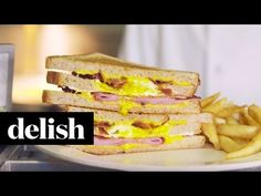 How to Make Junior Shepherd's Egg-In-A-Hole Grilled Cheese - Best Egg-In-A-Hole Grilled Cheese Recipe - Delish.com