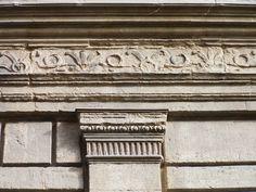 LEON BATTISTA ALBERTI Palazzo Rucellai, facade detail, Florence, 1446-51, Alberti