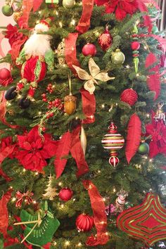 Designer Decorated Christmas Trees   How to Decorate Your Christmas Tree Like a Professional Designer ...