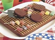 Chocolate Barbeque Grill Cake