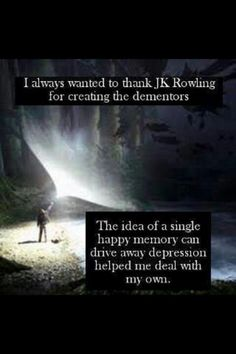 I have Expecto Patronum tattooed on my leg because of this.