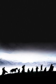 The Lord of the Rings: The Fellowship of the Ring Promo Poster