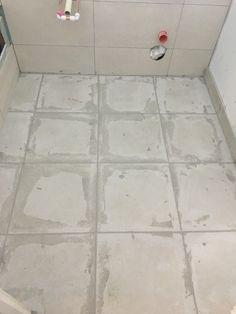 Grouting, Tile Floor, Bathrooms, Flooring, Crafts, Manualidades, Bathroom, Full Bath, Tile Flooring