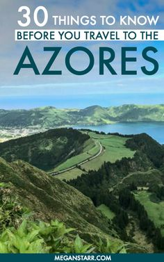 30 Useful Things to Know Before You Visit the Azores via Now is the time to visit the Azores! This archipelago of 9 islands in the Atlantic is one of Europe's secret gems. Here are things to know before you visit. Cool Places To Visit, Places To Travel, Travel Destinations, Ponta Delgada, Portugal Travel Guide, Spain And Portugal, Visit Portugal, Travel Abroad, Vacation Spots