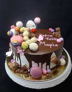 Pinata Cake, Torte Cake, Western Food, Drip Cakes, Food And Drink, Birthday Cake, Party, Desserts, Berlin