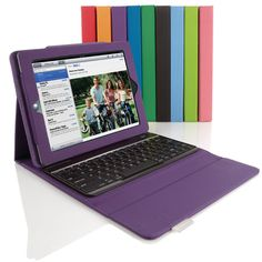 Bluetooth  Keyboard with Tech Grip Case for iPad Tablets from Brookstone