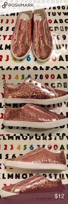 Gymboree Girls Pink Glitter Sneaker 🔥 New w/o Tags!  pink Pink PINK!  Size 3. Gymboree Shoes Sneakers
