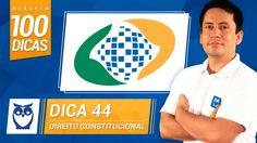 Dica 44 do Desafio 100 Dicas para INSS. Dica de Direito Constitucional por Prof. Ricardo Vale