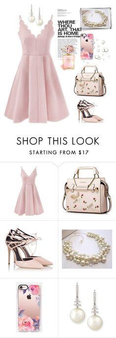 """""""Sweet Girl~"""" by amy0527 ❤ liked on Polyvore featuring Fratelli Karida, Chanel, Casetify and Belpearl"""