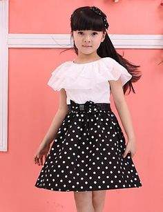 Kids Dress Wear, Girls Party Dress, Baby Girl Dresses, Baby Dress, Fashion Kids, Girl Fashion, Vestido Dot, Kids Frocks Design, Girls Dresses Online