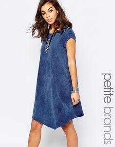 Noisy+May+Petite+Short+Sleeve+Dress