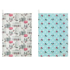 Mickey in London Set of Two Tea Towels | VIP Access | CathKidston