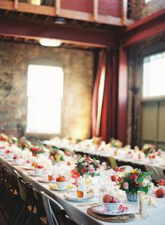 To see more romantic details from this CA wedding: http://www.modwedding.com/2014/11/25/peachy-keen-california-wedding-jen-huang-photography/ #wedding #weddings #wedding_reception