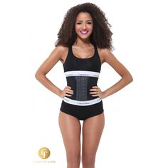 Cette gaine de marque Ann Michell est conçue pour être portée lors de vos séances de sport mais également au quotidien.