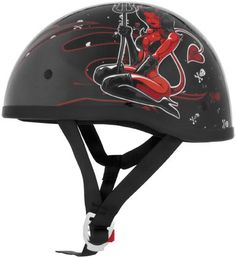 2013 Skid Lid Original Lethal Threat Motorcycle Helmet - Hell On Wheels - X-Large. Size: X-Large. Style: Half-Helmet. Color: HELL ON WHEELS/BLACK. Warranty: Covered for a 1-year period from the date of purchase. See manufacturer site for full details.