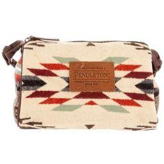 PENDLETON Navajo pattern bag ($115) found on Polyvore