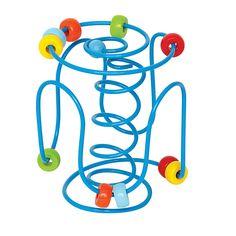 Labirynt niebieski #moje bambino #mała motoryka #motor skills  http://www.mojebambino.pl/labirynty-manipulacyjne/1592-sprezynowy-labirynt.html