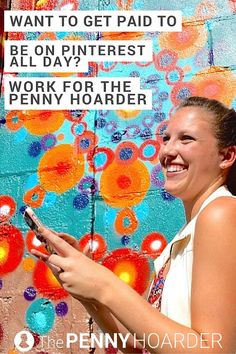 Do you get lost on Pinterest for hours on end? Looking for graphic designer jobs? Come work your magic in our sunny St. Petersburg office! /thepennyhoarder/