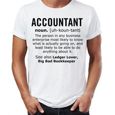 >> Click to Buy << Accountant Noun Job Mens Funny T Shirt Christmas Gift T-Shirt Humour T Shirt Men Funny Tee Shirts Short Sleeve Top Tee #Affiliate
