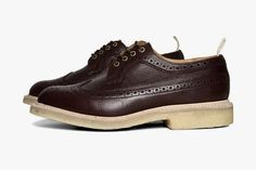 Tricker's for End Hunting Co. Zug Grain Long Wing Brogue | Hypebeast