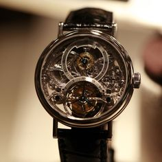Breguet squelette watch 2933 with tourbillon