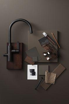 Mood Board Interior, Interior Design Boards, Interior Exterior, Interior Architecture, Kitchen Colour Combination, Material Board, Up House, Colour Board, Galveston