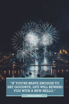 These best New Year quotes will give you a fresh outlook on life for the new year. Here's to ringing in 2020 with a few happy, inspirational words from some of your favorite authors, celebrities, and personalities! New Years Eve Quotes, Happy New Year Quotes, Quotes About New Year, Happy New Year 2019, Happy Quotes, Its Friday Quotes, Sunday Quotes, Joanna Kuchta, Positive Quotes For Life Encouragement