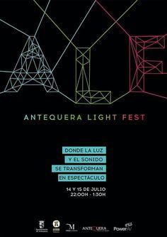 Los días 14 y 15 de julio, con motivo del I Aniversario del nombramiento, por parte de la UNESCO, del Sitio de Los Dólmenes como Patrimonio Mundial, tendrá lugar el Antequera Light Fest, donde la luz y el sonido se transforman en espectáculo.