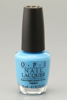OPI Nail Polish In No Room for the Blues