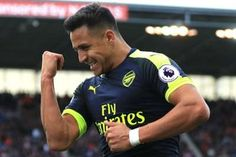 Alexis Sanchez earned the praise of Arsene Wenger after playing through discomfort to score in Arsenal's 4-1 Premier League win at Stoke City on Saturday.  The Chile international signalled that he needed to come off in the second half at bet365 stadium where he then struck to put the visitors 3-1 ahead in the 76th minute before being replaced by Aaron Ramsey60 seconds later.  The future of Sanchez has been the subject of speculation as the Gunners battle to qualify for the Champions League…