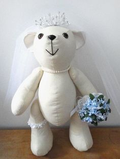 Signature Bear - Calico Teddy Bear INSTANT DOWNLOAD Sewing e Pattern