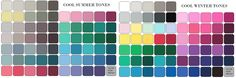 Image result for true winter true summer palette counterpoint