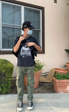 Dope Outfits For Guys, Stylish Mens Outfits, Trendy Mens Fashion, Cool Outfits, Casual Outfits, Fashion Outfits, Look Skater, Black Men Street Fashion, Vetement Fashion