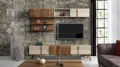Tv Wall Design, Tv Unit Design, Tv Unit Furniture, Furniture Design, Living Furniture, Modern Tv Cabinet, Tv Wall Decor, Cabinet Design, Home Decor Inspiration