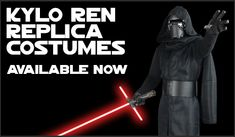 Star Wars The Force Awakens Kylo Ren Replica Costumes available at www.JediRobeAmerica.com