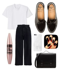 """School 🖕🏻"" by yanamur on Polyvore featuring мода, TIBI, Zimmermann, Maybelline, school, contestentry и polyvoreeditorial"