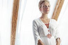 Folk Embroidery, Love Symbols, Petra, Tassel Necklace, Daughter, Collection, Fashion, Moda, La Mode
