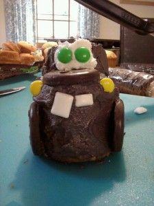 Tow Mater Cupcakes