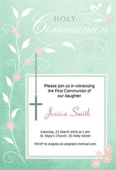 free printable confirmation invitations