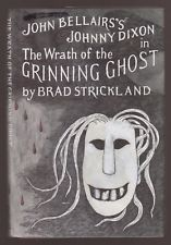 John Bellairs's Johnny Dixon in The Wrath of the Grinning Ghost by Brad Strickland, illustrated by Edward Gorey