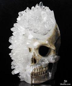 Y'all like druse and geode skulls, too? - Imgur