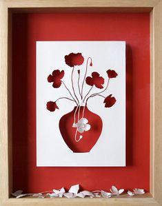 Create vase  Make paper flowers.