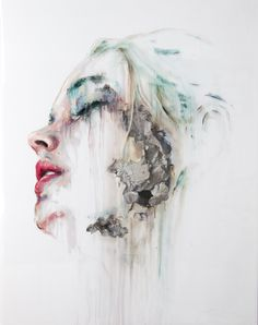 Palacios explores a range of human emotions. His powerful and modern techniques involve almost abstract brushstrokes and a strong use of color to create a feeling of decay and abandonment. Human Emotions, Art Gallery, Abstract, Artwork, Inspiration, Color, Palaces, Summary, Art Work