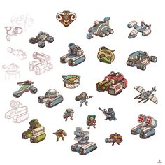 Dune 2000 Units by ShroomArts Spaceship Design, Spaceship Concept, Weapon Concept Art, Game Concept, Dune Art, Android Art, Cool Robots, Tank Design, Art Et Illustration