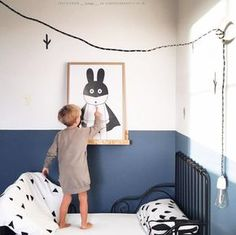 Kleur Flexa Blueberry dream. Idee kamer Senna en Jaydi Nursery Room, Kids Bedroom, Cool Kids Rooms, Baby Room Design, Boys Room Decor, Baby Boy Rooms, Girl Room, Decoration, Kidsroom