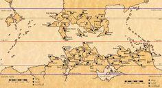 Pern, political map.