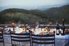 """""""Fancy"""" outdoor dinner date"""