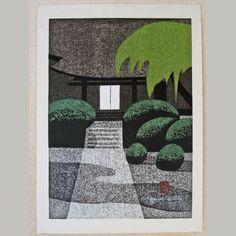 Japanese Woodblock by Kiyoshi Saito